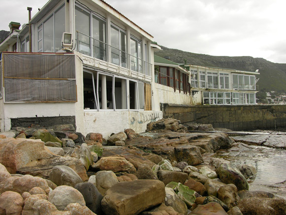 Polana and Harbour House damage